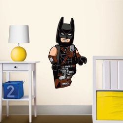Lego Movie Batman Staticker Wall Decal Sticker Väggdekor 53x36cm multifärg