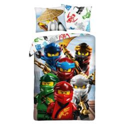 LEGO® Ninjago Pose Påslakanset Bäddset 140x200+70x90cm multifärg