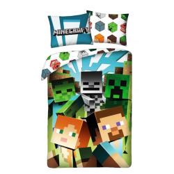 Minecraft Alex Steve Creeper Zombie Påslakanset Bäddset Sängkläd MultiColor