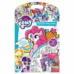 My Little Pony Bumper Play Pack Mini Målarbok Med Färgpennor   multifärg