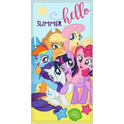 My Little Pony Summer Hello  Handduk Badlakan 140*70cm  multifärg