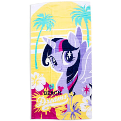 My Little Pony Unicorn Crush Handduk Badlakan 140*70cm  multifärg
