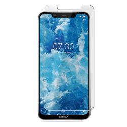 Nokia 8.1 Härdat Glas Skärmskydd Retail Transparent