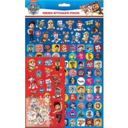 Paw Patrol Mega Stickers Pack 150st Fun Foiled Klistermärken Blå multifärg
