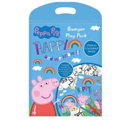 Peppa Pig Greta Gris Bumper Play Pack Målarbok & Färgpennor   multifärg