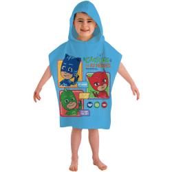 Pj Masks Pyjamashjältarna Badponcho Poncho Badhandduk 115*50cm multifärg