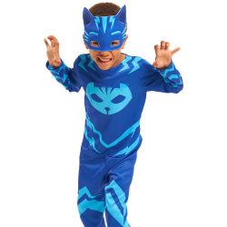 PJ Masks Pyjamashjältarna Catboy Kattpojken Maskeraddräkt  Blå
