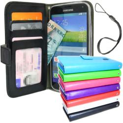 Plånboksfodral Samsung Galaxy S6 Med Skärmskydd Svart