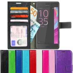 Plånboksfodral Sony Xperia X Performance Ljusrosa