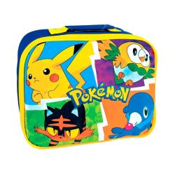 Pokémon Pikachu Lunchväska Matlåda Förvaringsväska 26x21x7cm multifärg