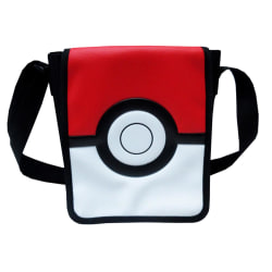 Pokémon Pokeball Shoulderbag Axelväska Väska 20cm multifärg one size