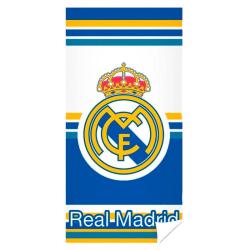 Real Madrid Handduk Badlakan Snabbtorkande 140*70cm Vit/Blå/Gul multifärg