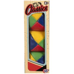 Retro Classics 4-Färgs Jonglerbollar 3-Pack multifärg