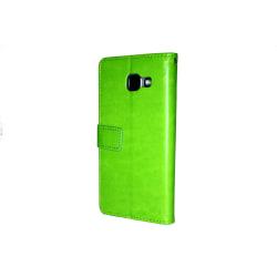 Samsung Galaxy A5 2016 Plånboksfodral ID Ficka + Handlovsrem Grön