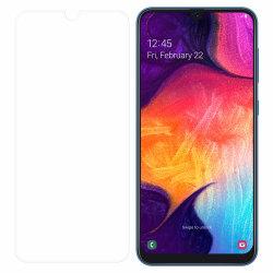 Samsung Galaxy A50 Härdat Glas Skärmskydd Retail Transparent
