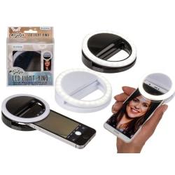 Selfie Ring LED Lampa/Blixt För iPhone/Android ASST multifärg