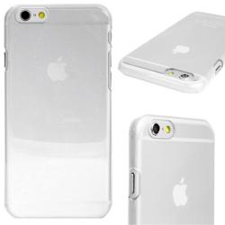 Snap-On Skal Till iPhone 6/6S Tunn Transparent Hard Case Transparent
