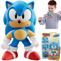 Sonic The Hedgehog Super Stretch & Töjbar Figur Leksaksfigur Blå