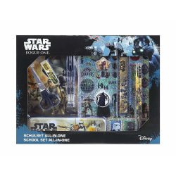 Star Wars All-in-one 11st Skolset Pennset & Stickers mm multifärg