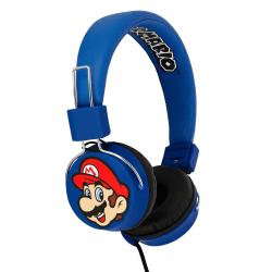 Super Mario & Luigi Teen's Headphone Hörlurar On Ear Max 100dB Blue
