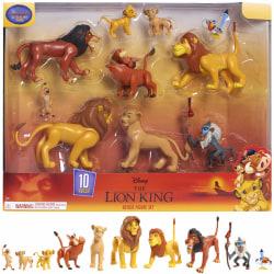 The Lion King Deluxe Figure Set Lejonkungen 10st Figurer  multifärg