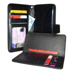 TOPPEN  2in1 Plånboksfodral & Korthållare Samsung Galaxy S8 Svar Svart