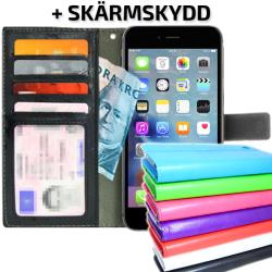 TOPPEN Plånboksfodral iPhone 6 PLUS/6S PLUS  ID Ficka +Skydd Grön
