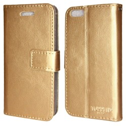 TOPPEN Plånboksfodral iPhone 7/iPhone 8 Guld