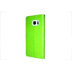 TOPPEN Samsung Galaxy S7 Plånboksfodral ID Ficka Grön