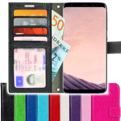 TOPPEN SLIM Samsung Galaxy Note 8 Plånboksfodral 4st Kort Svart