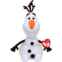 TY Disney Frozen Frost Olof Med Ljud Plush Docka Gosedjur Mjukis multifärg