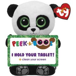 TY Poo Panda Gosedjur Tablet Hållare Till Surfplatta 30cm multifärg