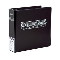 "Ultra-Pro 3"" Black Collectors Album SVART Samlar Pärm Svart"