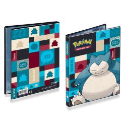 Ultra Pro Pokemon 4-Pocket Portfolio Snorlax multifärg