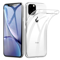 Ultratunn Mjuk Skal TPU iPhone 12 /12 Pro Genomskinligt Transparent