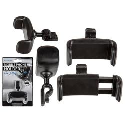 Universal Mobilhållare Bilhållare Luftventilation Air Vent 360 Svart