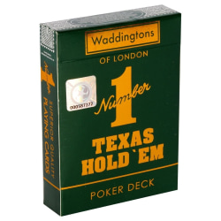 Waddingtons No 1 Playing Cards - Texas Hold Em multifärg