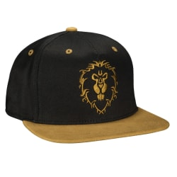 World of Warcraft Legendary Alliance Premium Snap Back Hat Keps  Svart one size