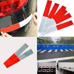 10PCS Car Truck Reflective Safety Tape Warning Night Light Refl Red