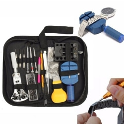 144pcs Watch Repair Tool Kit Watchmaker Back Case Remover Opener 144pcs/set