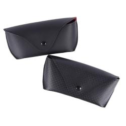 1 PC hållbara PU-glasögon Solglasögon Skal hårt fodralskydd 2#