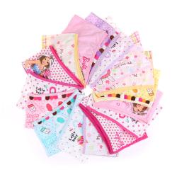 1Pc Kids Underwear Cartoon Baby Girls Short Panties Children Br 03 XL/8-10 Years Old