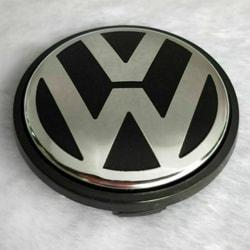 1st 56mm Hjulcentrum Cap Hub Cover Emblem Badge Emblem För VW