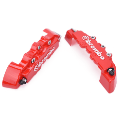 2pcs/lot ABS Endless Brake Caliper Cover Front Rear   Cover Deco Red One Size