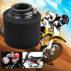 35mm Sponge Foam Air Filter Cleaner Motorcycle Scooter Bike Dirt Black