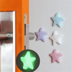 3pcs/lot Silicone Door Knob Crash Pad Wall Self Adhesive Luminou