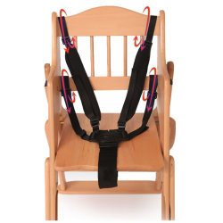 5 Point Harness Kids Safe Belt Seat For Stroller High Chair Pra 红色