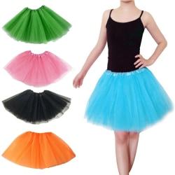 Adults Teens Girl Tutu Ballet Skirt Tulle Costume Fairy Party H White