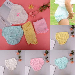 baby girls underwear bowknot baby panties newborn infant prince Pink S