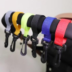 Baby Stroller Accessories Hook Multifunction Black High Quality One Size